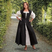 Country Maid Skirt. Black. Windlass. Vestido Campesino. Negro. Marto