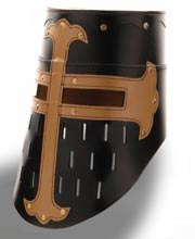 Crusader Great Helm Leather. Windlass
