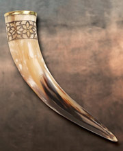 Drinking Horn of Freya. Windlass