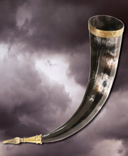 Drinking horn of Jarl. Windlass