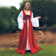 Fair Maiden Dress-Red. Windlass