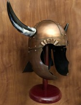 Horned Viking Helmet. Windlass Steelcrafts. Marto