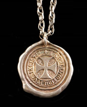 Seal of the Knights Templar Pendant. Windlass
